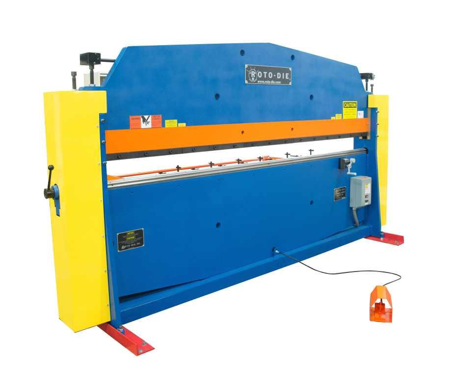 Hydraulic Press Brakes (by Gauge - RotoDie Style)