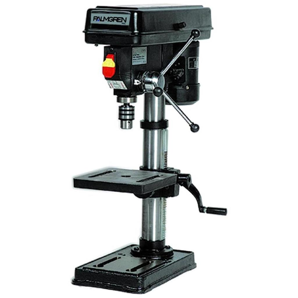 "10"" PALMGREN 5-SPEED BENCH TOP STEP PULLEY DRILL PRESS, MODEL#9680110, NEW"