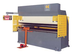 120 Ton, HACO HYDRAULIC PRESS BRAKE, No. HDE-120-12-10 **NEW**