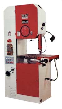 "13"" x 23"", DAKE VERTICAL BANDSAW, MODEL#V-24 **NEW**"