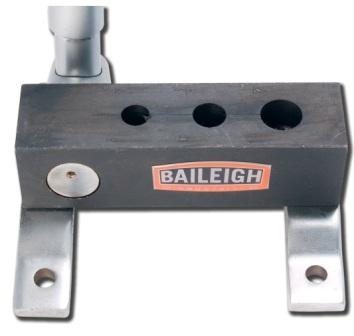 BAILEIGH MANUALLY-OP PIPE NOTCHER FOR 1/4, 3/8, 1/2, MODEL#TN-50M **NEW**