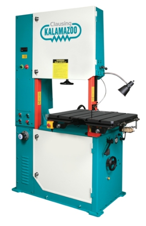 "28"" x 12"", CLAUSING VERTICAL BANDSAW W/HYD TABLE, MODEL#V2812H, **NEW**"