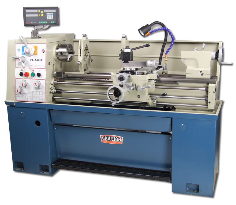 "14"" x 40"" cc, BAILEIGH METAL LATHE, MODEL#PL-1440E, NEW"