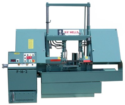 "16"" x 20"", WF WELLS SEMI-AUTO TWIN-POST BANDSAW, MODEL#F-16-2 **NEW**"