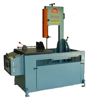 "14"" x 20"", ROLL-IN TILT-FRAME VERTICAL BANDSAW, MODEL#TF1420 **NEW**"