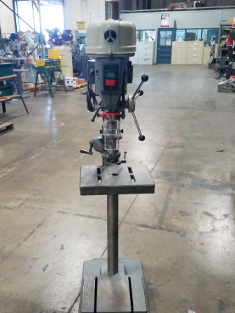 "15"" ROCKWELL DRILL PRESS, FLOOR MODEL, MODEL#5-665, USED"