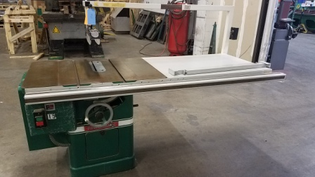 TABLE SAW, POWERMATIC, MODEL#66, 3 HP, 220V, 3 PHASE, USED