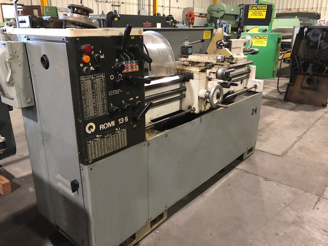 "13"" x 40"" cc, ROMI ENGINE LATHE, USED"